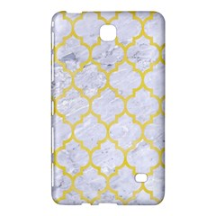 Tile1 White Marble & Yellow Watercolor (r) Samsung Galaxy Tab 4 (7 ) Hardshell Case  by trendistuff