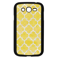 Tile1 White Marble & Yellow Watercolortile1 White Marble & Yellow Watercolor Samsung Galaxy Grand Duos I9082 Case (black) by trendistuff