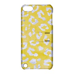 Skin5 White Marble & Yellow Watercolor (r) Apple Ipod Touch 5 Hardshell Case With Stand by trendistuff