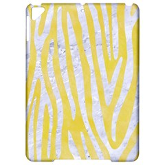 Skin4 White Marble & Yellow Watercolor (r) Apple Ipad Pro 9 7   Hardshell Case by trendistuff