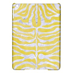Skin2 White Marble & Yellow Watercolor Ipad Air Hardshell Cases by trendistuff