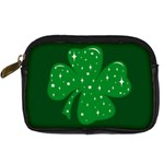 Sparkly Clover Digital Camera Cases Front