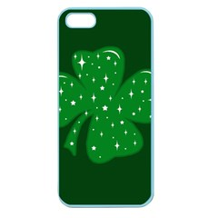 Sparkly Clover Apple Seamless Iphone 5 Case (color)