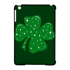 Sparkly Clover Apple Ipad Mini Hardshell Case (compatible With Smart Cover)