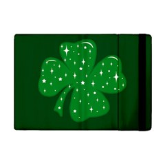 Sparkly Clover Ipad Mini 2 Flip Cases by Valentinaart