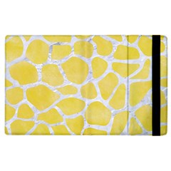 Skin1 White Marble & Yellow Watercolor (r) Apple Ipad 2 Flip Case by trendistuff