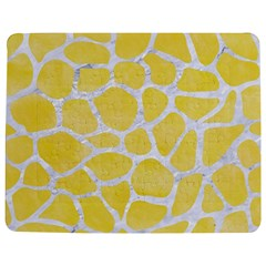 Skin1 White Marble & Yellow Watercolor (r) Jigsaw Puzzle Photo Stand (rectangular) by trendistuff