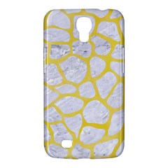 Skin1 White Marble & Yellow Watercolor Samsung Galaxy Mega 6 3  I9200 Hardshell Case by trendistuff