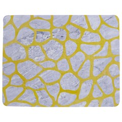 Skin1 White Marble & Yellow Watercolor Jigsaw Puzzle Photo Stand (rectangular) by trendistuff
