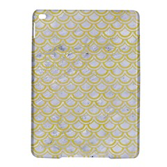 Scales2 White Marble & Yellow Watercolor (r)scales2 White Marble & Yellow Watercolor (r) Ipad Air 2 Hardshell Cases by trendistuff
