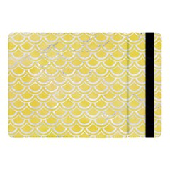 Scales2 White Marble & Yellow Watercolor Apple Ipad Pro 10 5   Flip Case by trendistuff