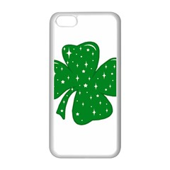 Sparkly Clover Apple Iphone 5c Seamless Case (white)