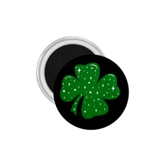Sparkly Clover 1 75  Magnets by Valentinaart