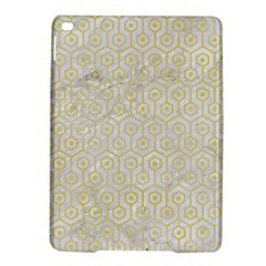 Hexagon1 White Marble & Yellow Watercolor (r) Ipad Air 2 Hardshell Cases by trendistuff