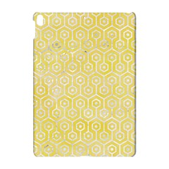 Hexagon1 White Marble & Yellow Watercolor Apple Ipad Pro 10 5   Hardshell Case by trendistuff