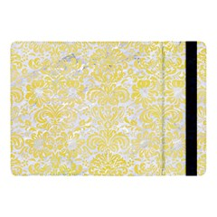 Damask2 White Marble & Yellow Watercolor (r) Apple Ipad Pro 10 5   Flip Case by trendistuff