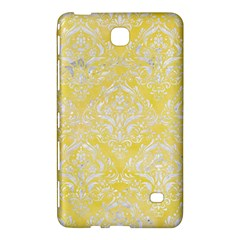 Damask1 White Marble & Yellow Watercolor Samsung Galaxy Tab 4 (7 ) Hardshell Case  by trendistuff