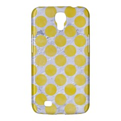 Circles2 White Marble & Yellow Watercolor (r) Samsung Galaxy Mega 6 3  I9200 Hardshell Case by trendistuff