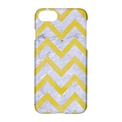 Chevron9 White Marble & Yellow Watercolor (r) Apple Iphone 7 Hardshell Case by trendistuff