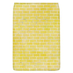Brick1 White Marble & Yellow Watercolor Flap Covers (l)