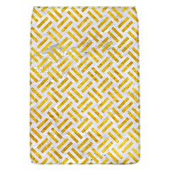 Woven2 White Marble & Yellow Marble (r) Flap Covers (l)  by trendistuff