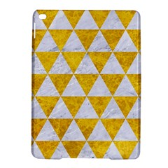 Triangle3 White Marble & Yellow Marble Ipad Air 2 Hardshell Cases by trendistuff