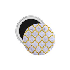 Tile1 White Marble & Yellow Marble (r) 1 75  Magnets by trendistuff