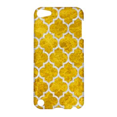 Tile1 White Marble & Yellow Marble Apple Ipod Touch 5 Hardshell Case by trendistuff