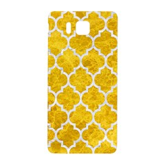 Tile1 White Marble & Yellow Marble Samsung Galaxy Alpha Hardshell Back Case by trendistuff