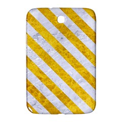 Stripes3 White Marble & Yellow Marble Samsung Galaxy Note 8 0 N5100 Hardshell Case  by trendistuff