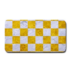 Square1 White Marble & Yellow Marble Medium Bar Mats by trendistuff