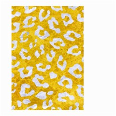 Skin5 White Marble & Yellow Marble (r) Small Garden Flag (two Sides) by trendistuff