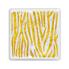 Skin4 White Marble & Yellow Marble Memory Card Reader (square)  by trendistuff