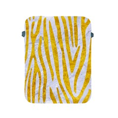 Skin4 White Marble & Yellow Marble Apple Ipad 2/3/4 Protective Soft Cases by trendistuff