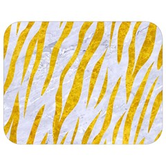 Skin3 White Marble & Yellow Marble (r) Full Print Lunch Bag