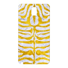 Skin2 White Marble & Yellow Marble (r) Samsung Galaxy Note 3 N9005 Hardshell Back Case by trendistuff