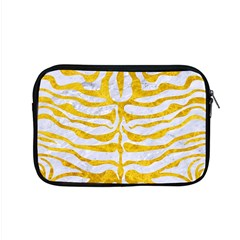 Skin2 White Marble & Yellow Marble (r) Apple Macbook Pro 15  Zipper Case by trendistuff