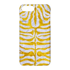 Skin2 White Marble & Yellow Marble (r) Apple Iphone 8 Plus Hardshell Case by trendistuff