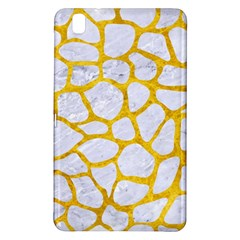 Skin1 White Marble & Yellow Marble Samsung Galaxy Tab Pro 8 4 Hardshell Case