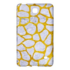Skin1 White Marble & Yellow Marble Samsung Galaxy Tab 4 (8 ) Hardshell Case  by trendistuff