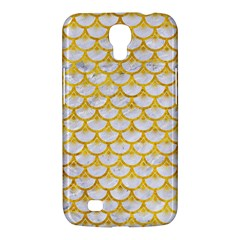 Scales3 White Marble & Yellow Marble (r) Samsung Galaxy Mega 6 3  I9200 Hardshell Case by trendistuff