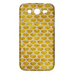 Scales3 White Marble & Yellow Marble Samsung Galaxy Mega 5 8 I9152 Hardshell Case  by trendistuff