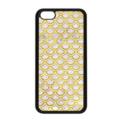 Scales2 White Marble & Yellow Marble (r) Apple Iphone 5c Seamless Case (black) by trendistuff