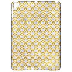 Scales2 White Marble & Yellow Marble (r) Apple Ipad Pro 9 7   Hardshell Case by trendistuff
