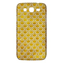 Scales2 White Marble & Yellow Marble Samsung Galaxy Mega 5 8 I9152 Hardshell Case  by trendistuff