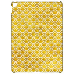 Scales2 White Marble & Yellow Marble Apple Ipad Pro 12 9   Hardshell Case