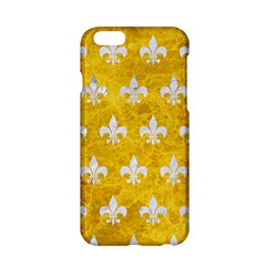 Royal1 White Marble & Yellow Marble (r) Apple Iphone 6/6s Hardshell Case by trendistuff