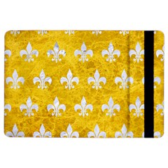 Royal1 White Marble & Yellow Marble (r) Ipad Air 2 Flip by trendistuff
