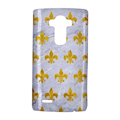 Royal1 White Marble & Yellow Marble Lg G4 Hardshell Case by trendistuff
