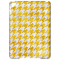 Houndstooth1 White Marble & Yellow Marble Apple Ipad Pro 9 7   Hardshell Case